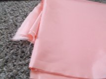 pink satin 44 wide by 2 1/4 yards in Alamogordo, New Mexico