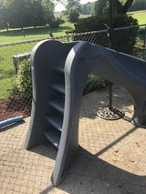 SR Smith Cyclone Pool Slide - Right Curve - Gray Granite in Fort Campbell, Kentucky