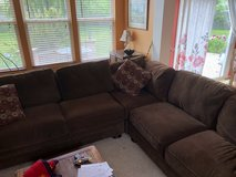 3 Piece Comfy Sectional in Bolingbrook, Illinois