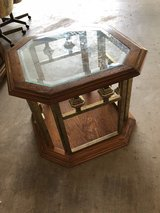 End table with glass top in Lawton, Oklahoma