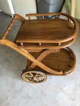 Wooden cart in Lawton, Oklahoma