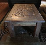 Wooden coffee table in Baytown, Texas