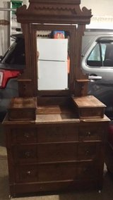 Antique Dresser with Marble insert in Chicago, Illinois