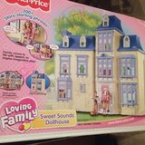 Fisher Price Loving Family Sweet Sounds Dollhouse in Aurora, Illinois