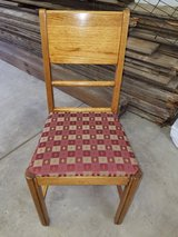 Late 30s early 40's Oak set of 4 Chairs in Aurora, Illinois
