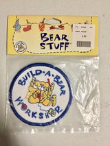 Vintage Build a Bear Workshop patch (NEW) Still in plastic bag in Naperville, Illinois