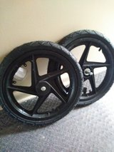 Wheels for bicycle trailer in Naperville, Illinois