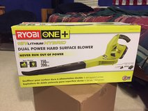 Ryobi ONE+ 18-Volt Lithium-Ion Hybrid Leaf Blower/Sweeper in Spring, Texas