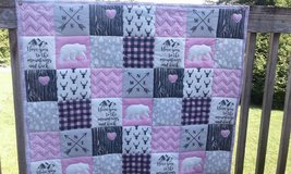 Love you to the Mountains and Back Girl Quilt in Fort Lewis, Washington