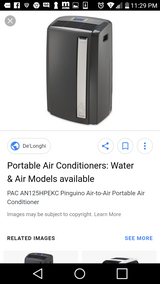 Delonghi portable a/c unit in Vacaville, California
