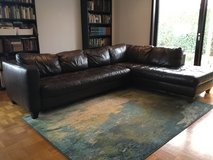 Leather Couch - FREE - PPU in Stuttgart, GE