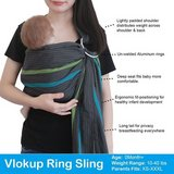 Like NEW! Vlokup Baby Sling Ring Sling Carrier Wrap in Clarksville, Tennessee