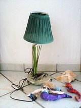 Beach Themed table lamp, conch shell, mermaid and sea horse in Stuttgart, GE