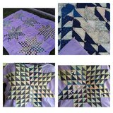 Hand Stitched Quilt Top*Lot 1 of 5 in Naperville, Illinois