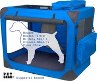 Pet Gear Generation II Soft Crate - Large Blue in Chicago, Illinois