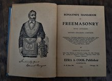 Ronaynes's Handbook of Freemasonry 1946 in Ramstein, Germany