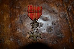 Belgium WWI War Cross Medal in Ramstein, Germany