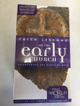 Faith Lessons on the early church (Volume five) by Focus on the Family - VHS in St. Charles, Illinois
