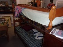Maple Bunk Bed Set in Fort Riley, Kansas
