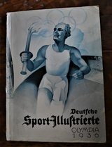 Deutsche Sport-Illustrierte Olympia 1936 in Ramstein, Germany