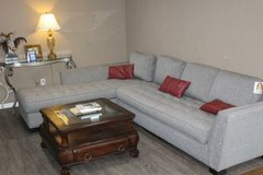 NOW ON SALE $550!!! Cindy Crawford Gray Sectional! in Spring, Texas