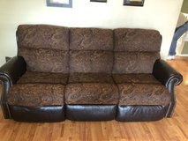 Great American made dual recliner couch in Fort Carson, Colorado
