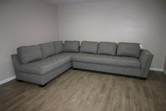 NOW ON SALE!! $550! Cindy Crawford Sectional in Gray in Spring, Texas