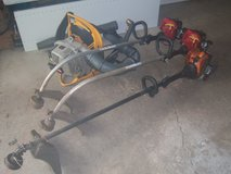 1-REMINGTON RM2560-2-HOMELITE WEED TRIMMERS-1 RYOBI BACKPACK BLOWER in Plainfield, Illinois