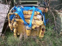 Caterpillar 3116 DI engine out of Cat 613C, industrail engine in Conroe, Texas