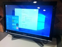 Toshiba DX735 Windows 10 Touchscreen Desktop All-In-One PC in Plainfield, Illinois