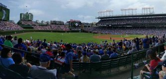 CHICAGO CUBS TICKETS GREAT AISLE SEATS AMAZING VIEW (JULY-SEPT) in St. Charles, Illinois