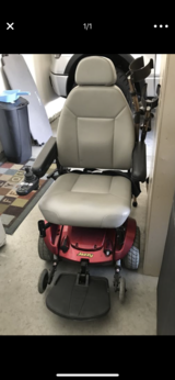 Electric jazzy wheelchair in Camp Pendleton, California