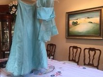 Beautiful Sea Mist Green 2 piece with wrap cocktail/prom dress in Conroe, Texas