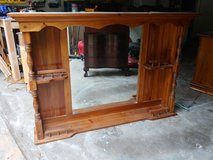 Solid Wood Hutch Top from Dresser in Kingwood, Texas