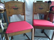 Pair 1950's Kitchen Chairs in Orland Park, Illinois