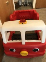 step 2 toddler fire truck bed in Orland Park, Illinois