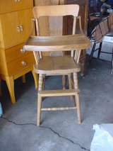 Vintage Baby High Chair in Quad Cities, Iowa