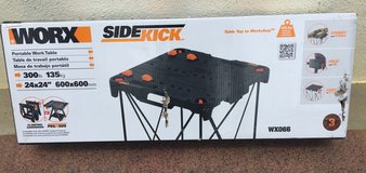 WORX WX066 Sidekick Portable Table in Okinawa, Japan