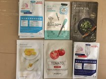 korean and taiwanese mask sheets in Okinawa, Japan