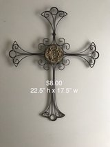 CROSS home decor wall hanging in Bolingbrook, Illinois
