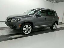 US Spec 2015 VW Tiguan R-Line 4motion  Warranty !! Low Miles !! in Spangdahlem, Germany