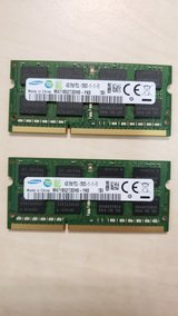 Samsung 4GB DDR3 PC3-12800 Laptop memory in Ramstein, Germany