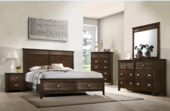 Multi QS Bed Set as Shown with Drawers in the Footboard including delivery in Stuttgart, GE