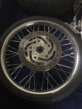 Motorcycle Wheels- must sell in Algonquin, Illinois