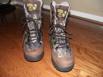 Mens & Youth Size (New) Camo / Leather Waterproof Boots in Kingwood, Texas
