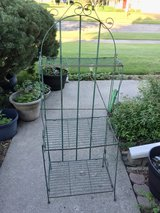 Vintage 3 tier Metal Shelf plant rack in Joliet, Illinois