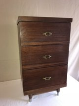 Mid Century side dressers, three drawers in Spring, Texas