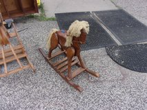 Small Wooden Rocking Horse in Fort Riley, Kansas