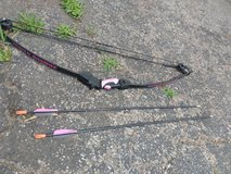 bow and 2 arrows in Fort Campbell, Kentucky