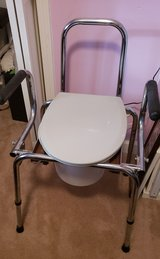All-In-One Aluminum Commode in Cherry Point, North Carolina